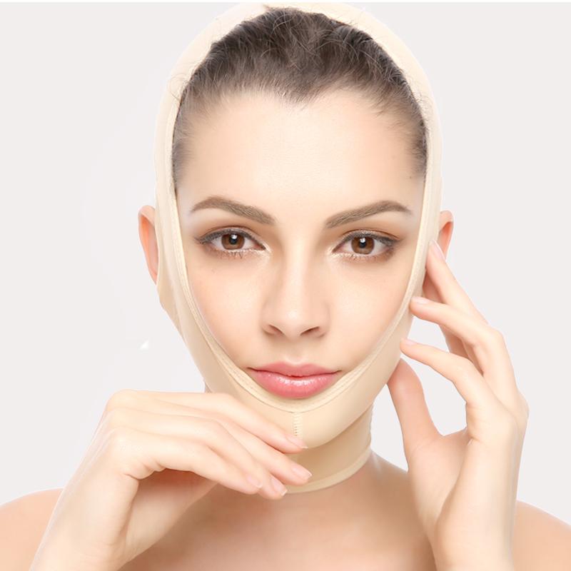 小V脸神器提升拉修容提拉薇妮吸脂头套 瘦脸绷带面雕塑形紧致美容