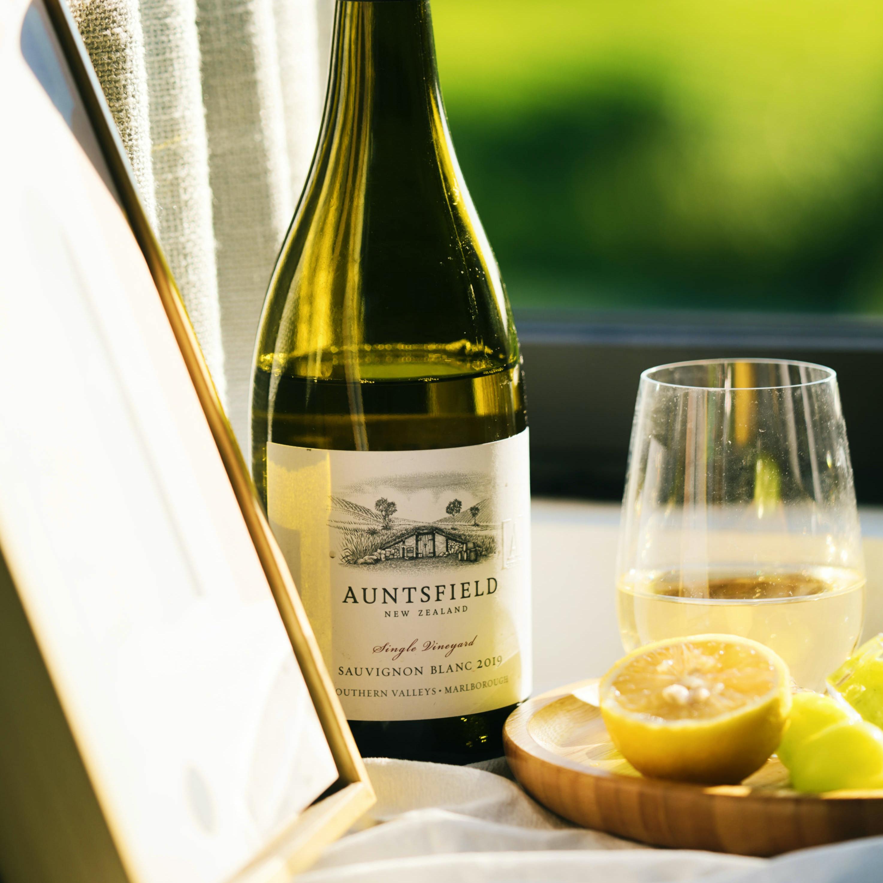 Auntsfield 原瓶进口新西兰马尔堡长相思干白葡萄酒单一园 名庄