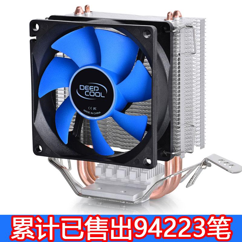 九州风神冰凌mini cpu散热器cpu风扇台式机1155AMD1151/0 玄冰400