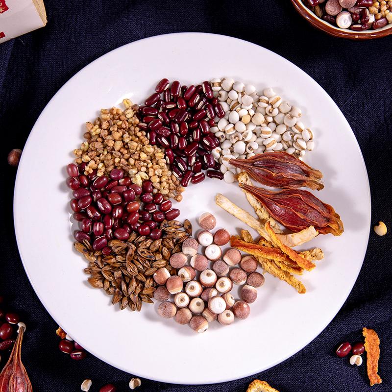 红豆薏米大麦茶叶花草代用茶苦荞芡实赤小豆意米茶调理男女通用