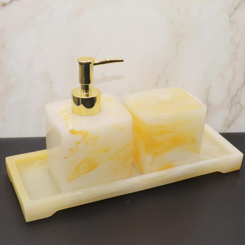 酒店卫浴用品摆件情侣漱口杯套件卫生间洗漱牙具盒套装托盘牙刷架