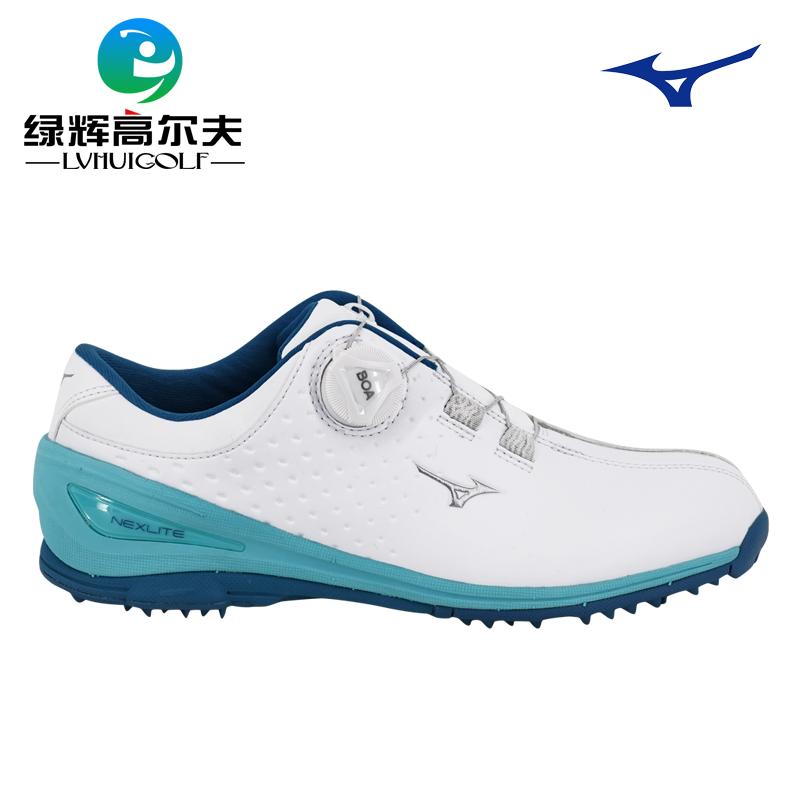 mizuno美津濃高爾夫球鞋女鞋BOA旋轉扣輕量運動鞋固定釘鞋19款