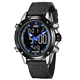 The trend of multi-function military special forces watch men watch dual display luminous waterproof outdoor sports watch electronic watches