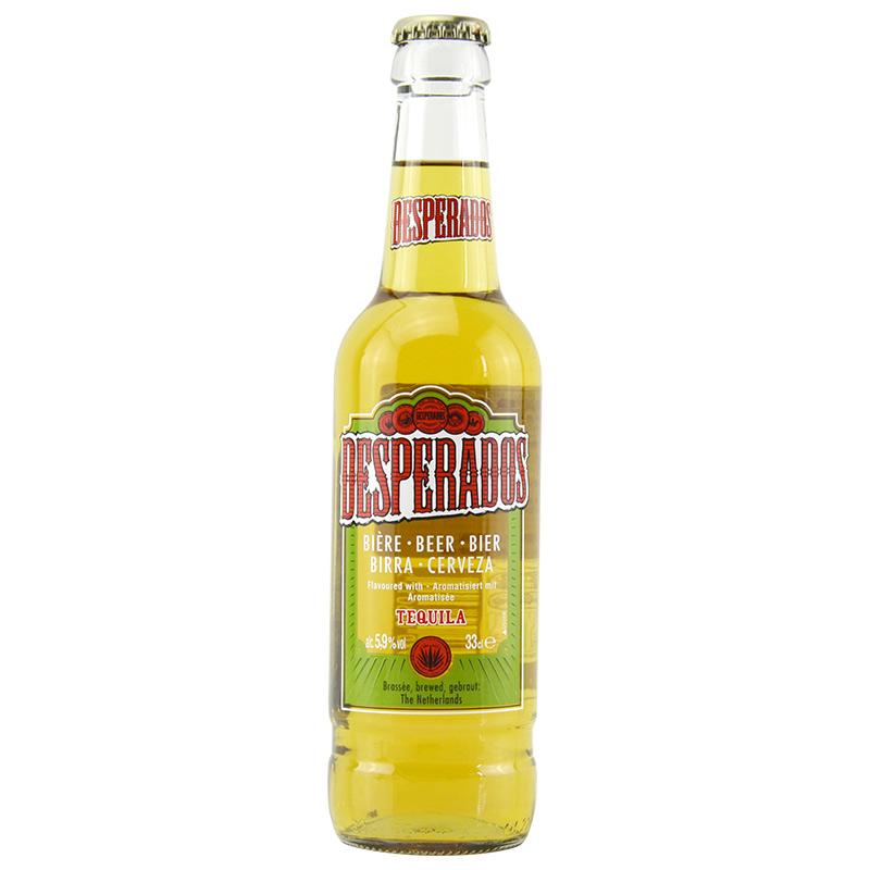 瓶 12 330ml Desperados 荷蘭進口啤酒亡命之徒龍舌蘭啤酒