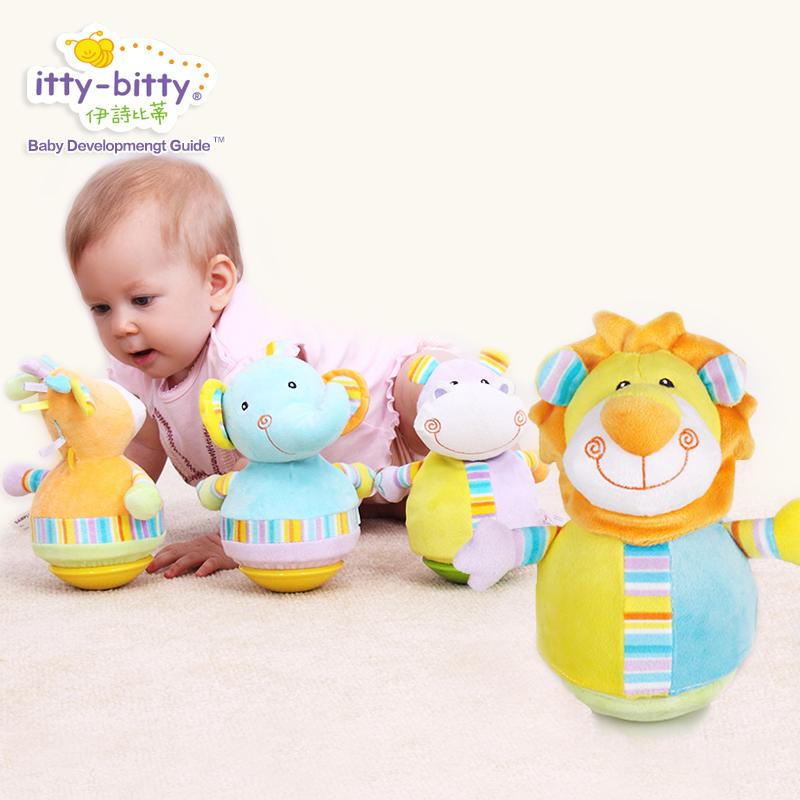 伊诗比蒂儿童不倒翁玩具大号 宝宝益智玩具0-1岁 婴儿不到翁玩具