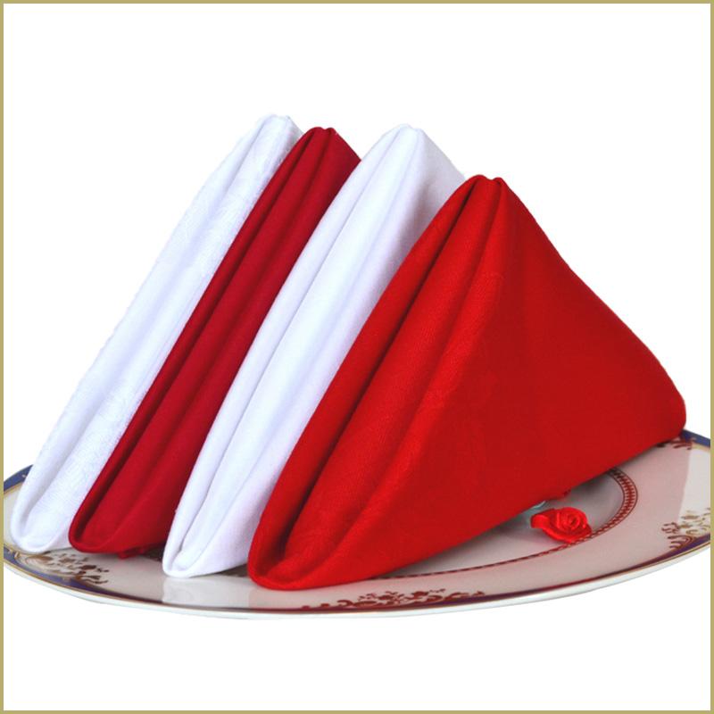 纯棉多功能口布擦杯打干布不掉毛西餐餐厅餐巾折花专用布新疆全棉