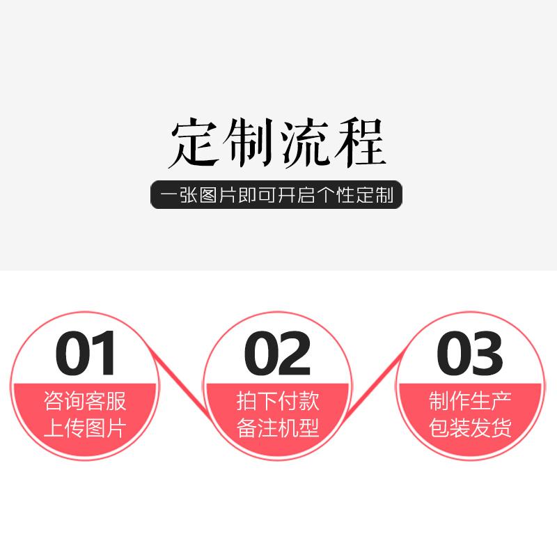 苹果x手机壳定制iphone7plus情侣8照片7P私人6splus钢化玻璃壳diy任意型号iphonex女来图订做8plus自定义制作