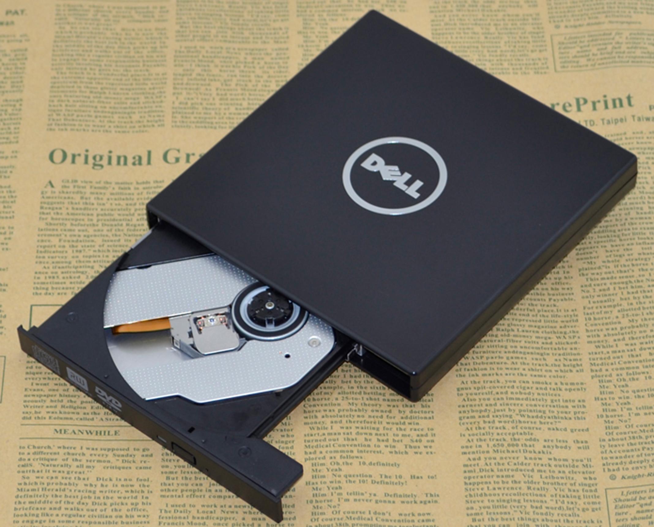 包邮DELL戴尔usb移动外置光驱CD/DVD刻录机 台式电脑笔记本 通用