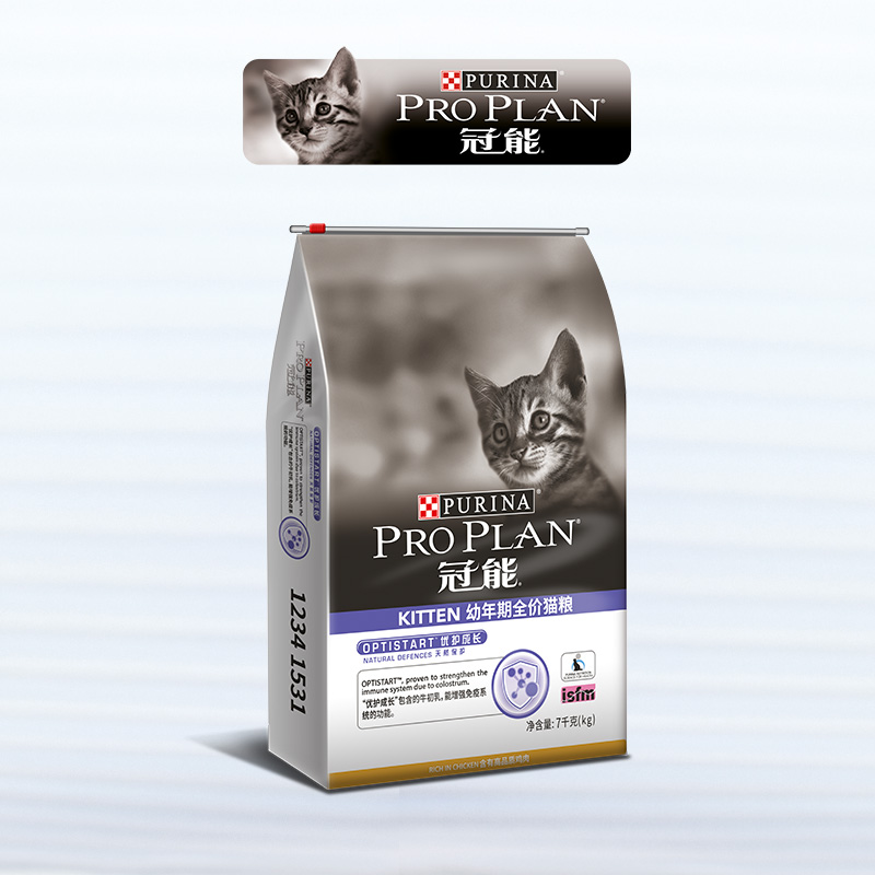 冠能幼猫孕猫猫粮15磅离乳期1-4个月猫奶糕小猫小奶猫猫咪猫食7kg优惠券