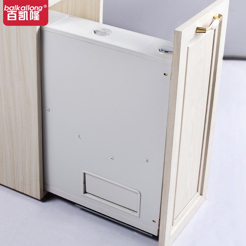 公斤大容量电显计量米箱柜内防潮环保米桶 18 欧莫隆整体橱柜米箱