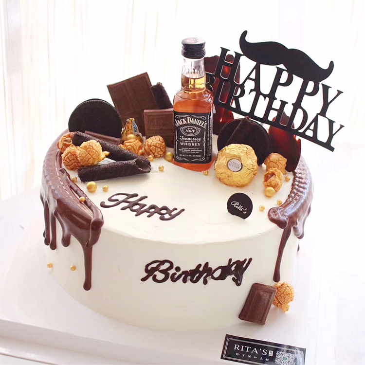 Fabulous Party Birthday Cake Decoration Accessories Jack Danny Canada Club Funny Birthday Cards Online Unhofree Goldxyz