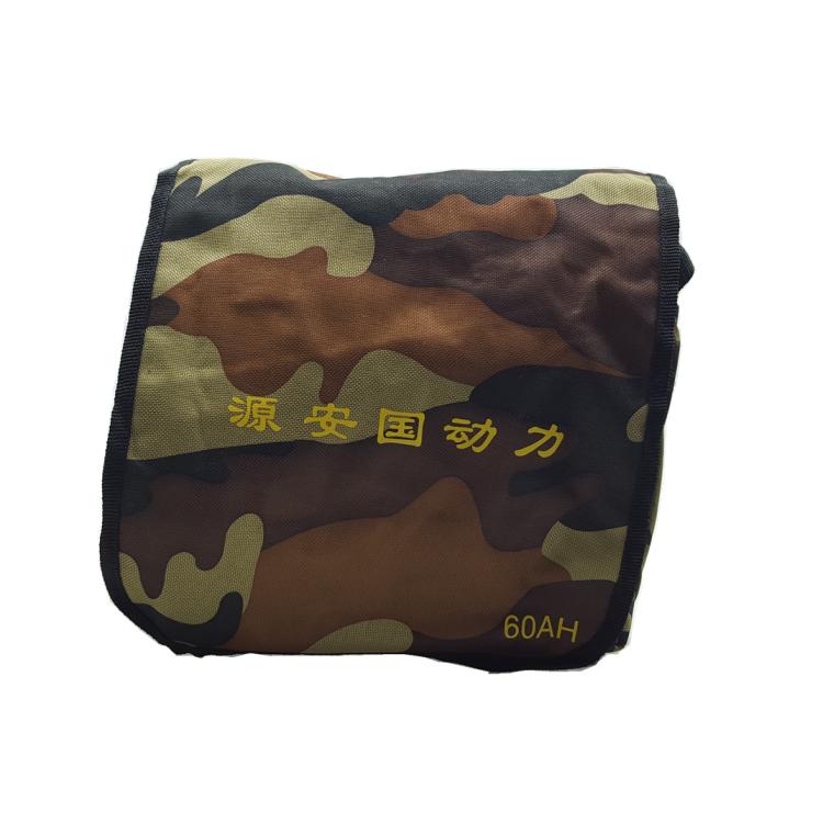 以下规格锂电池 12V60AH 背机迷彩背包适用 锂电池专业特制背包