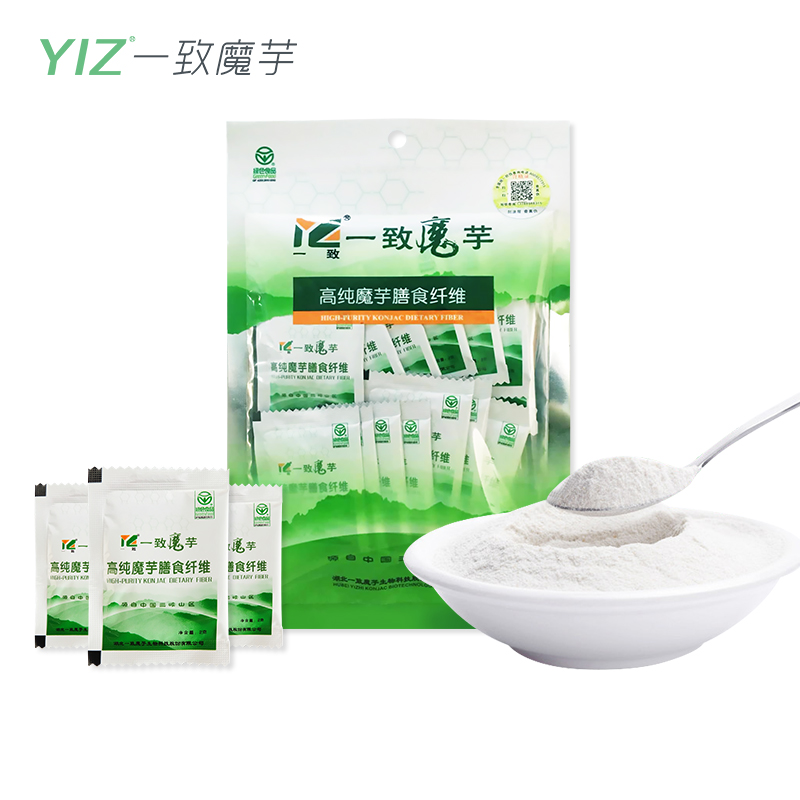 【膳食纤维粉2g*14袋】早餐纯化魔芋代餐粉饱腹营养晚餐