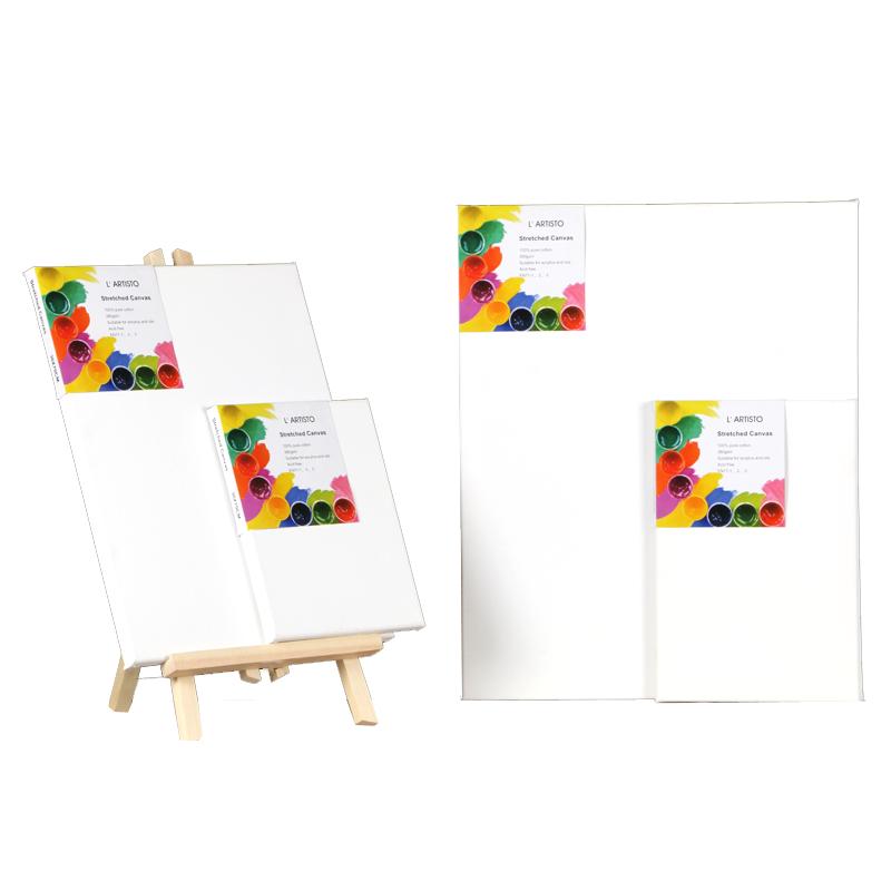 油画框亚麻纯棉布画框成品丙烯颜料定制做油画板内框木条套装批发