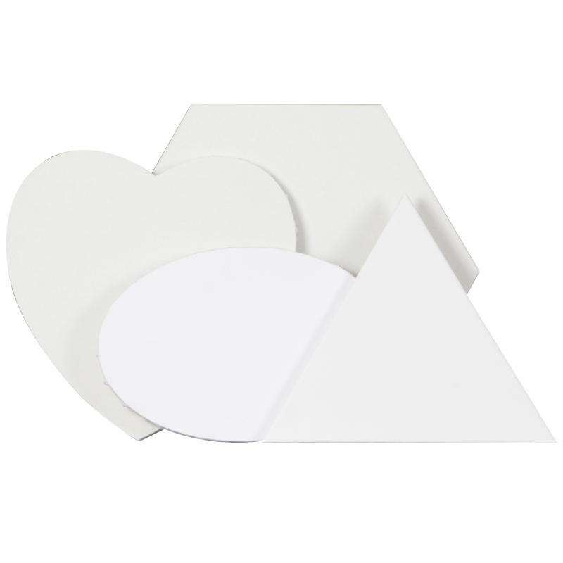 圆形六边形三角形椭圆形心形纯棉亚麻异形成品油画框油画内框布框