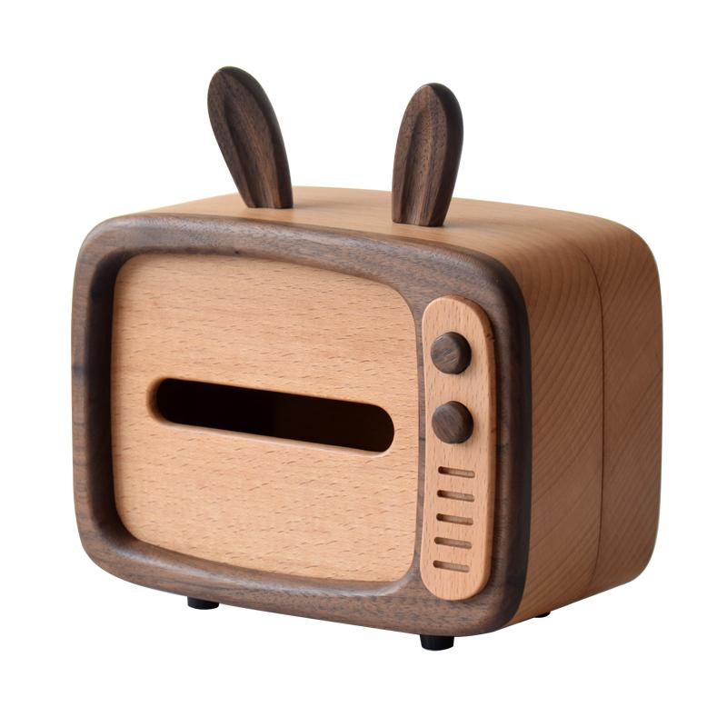 家居可爱实用礼物什么好呢?慕物TV兔纸巾盒