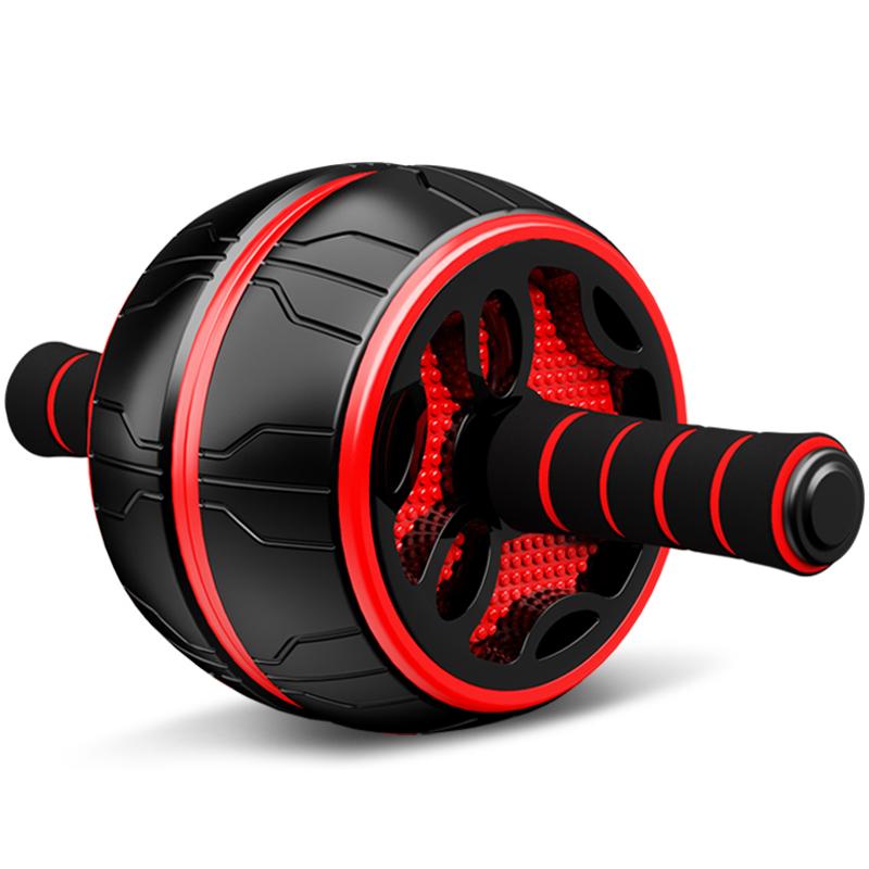 健腹轮腹肌速成神器女男卷腹滚轮回弹运动自动健身器材家用瘦肚子