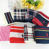 New! Small flaw exported to Japan p0l0 Egyptian cotton thick cotton men's 25 * 25 small square handkerchief court