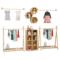 童装服装店专用展示架衣架实木中岛架女装店落地式货架陈列架装修