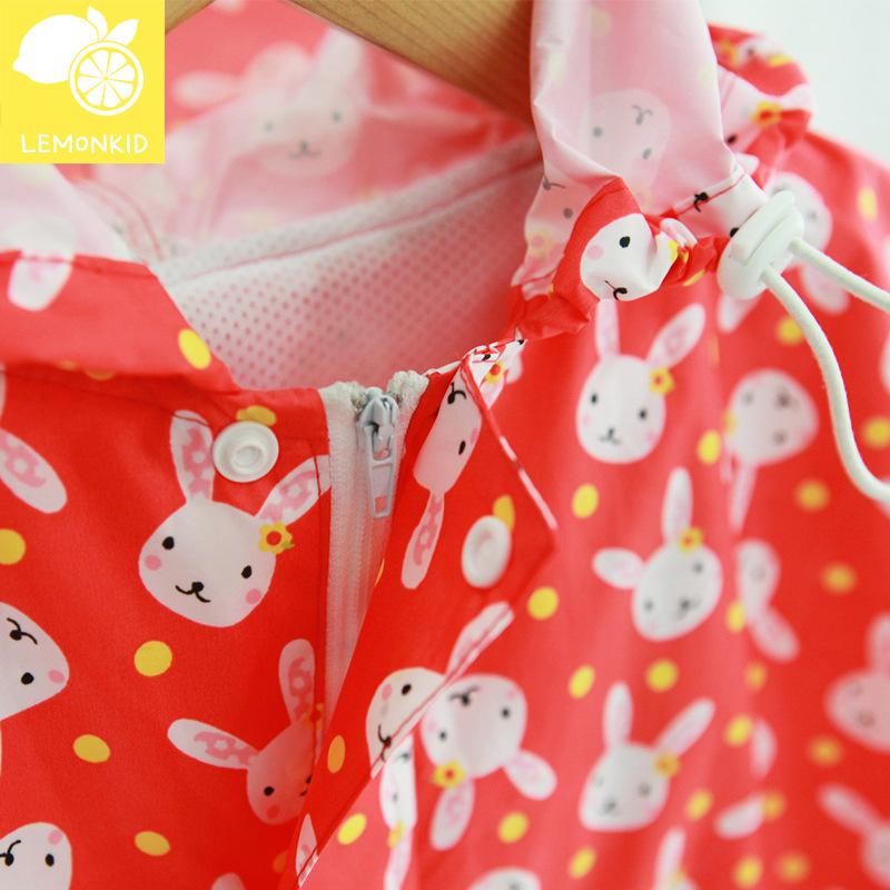 儿童雨衣防水男童女童宝宝可爱卡通书包位幼儿园大童小孩学生雨披