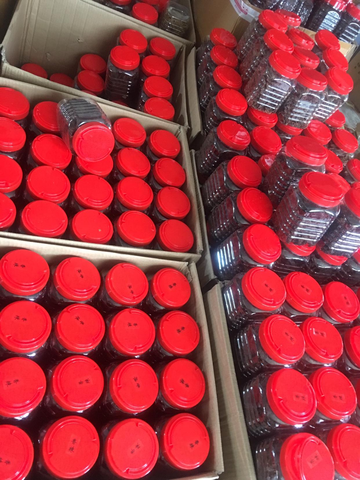 温州零食小吃特产湖岭大片小中片桶装罐装牛肉干一件代发毛重500G