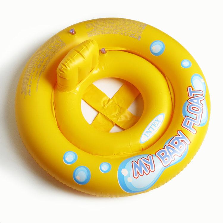 婴儿游泳圈脖圈腰圈救生浮圈趴圈双层加厚新生儿童宝宝腋下圈坐圈