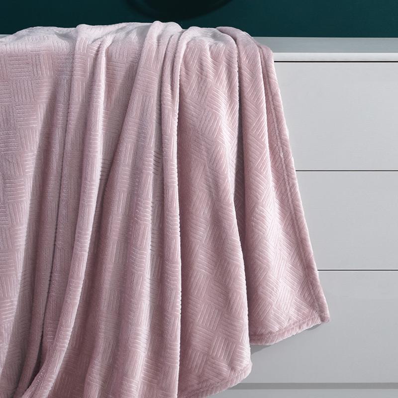 罗莱家纺学生宿舍单人双人办公室午睡毯小凉被夏凉感毯子毛巾被子 - 图1
