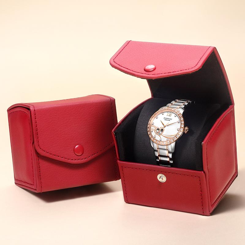 罗西尼手表女机械表正品名牌典美系列女款李湘直播女士腕表517768