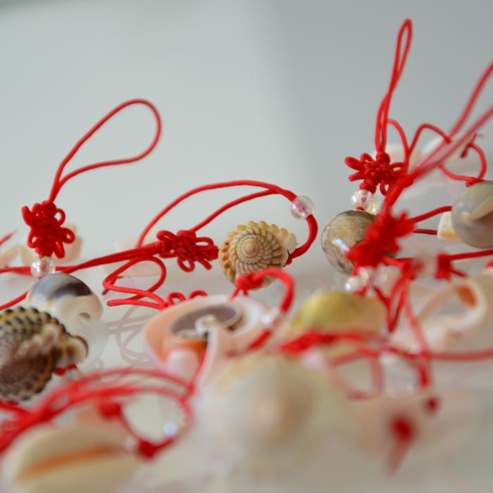 天然海螺贝壳工艺品手机链摆地摊货源夜市场热卖钥匙扣包挂件直销