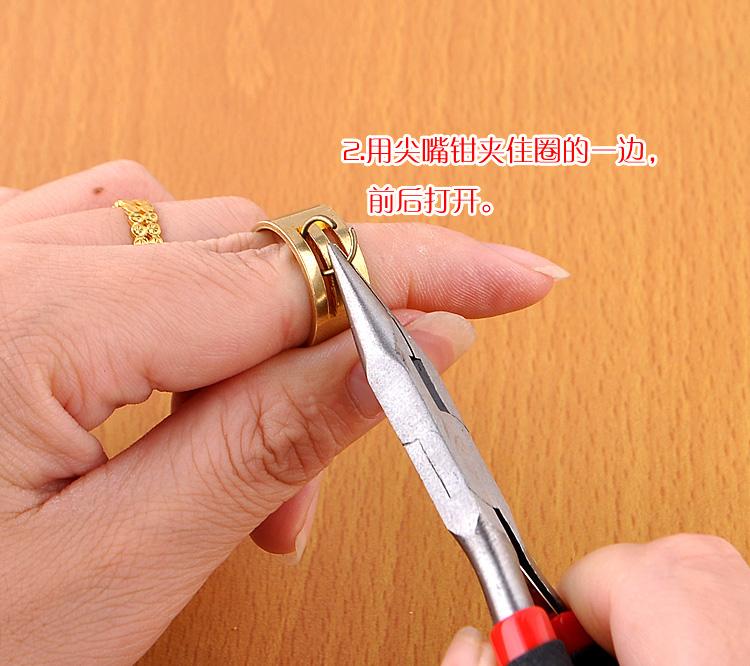 diy串珠工具手工制作钳子迷你钳尖嘴钳卷针圆头钳多功能钳