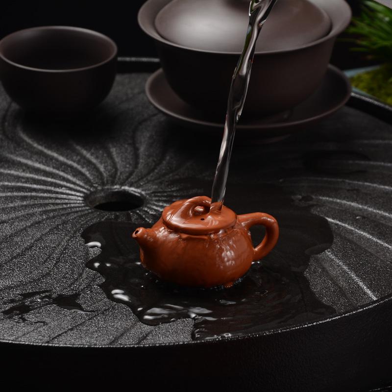 茶宠摆件精品可养迷你紫砂壶小号袖珍指尖壶茶玩茶具茶桌功夫茶具