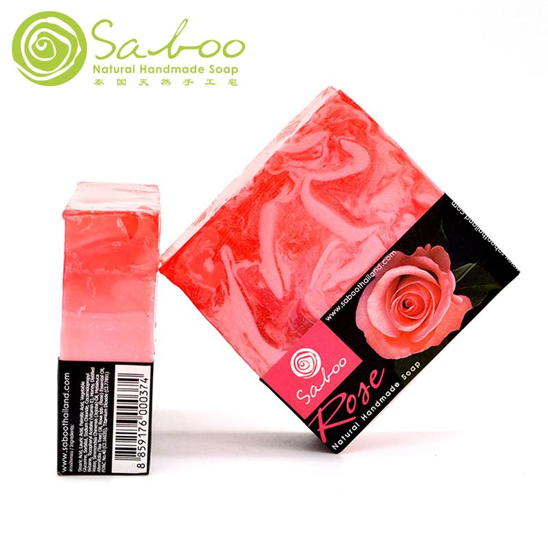 SABOO泰国手工皂精油香皂 天然全身亮白洗脸肥皂原装进口正品
