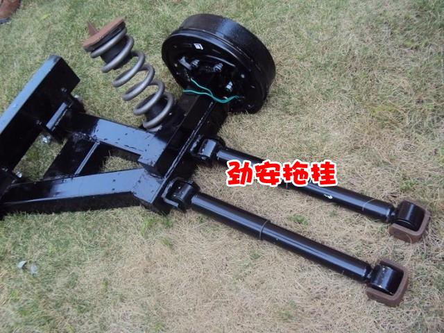 越野拖挂小拖车轴拖车独立悬挂系统房车底盘拖车底盘改装加装配件