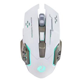可充电鼠标游戏磨砂个性创意机械无声静音牧马人电竞加重无线鼠标
