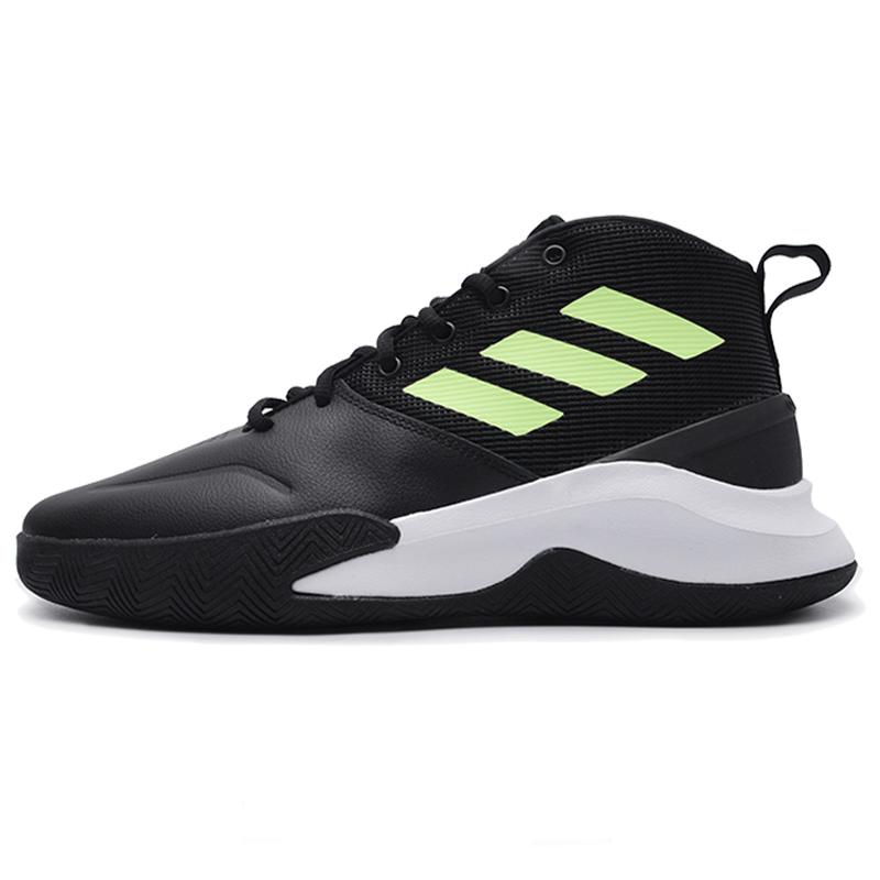 阿迪達斯男鞋水泥地外場戰靴實戰低幫耐磨運動鞋高幫籃球鞋EE9633