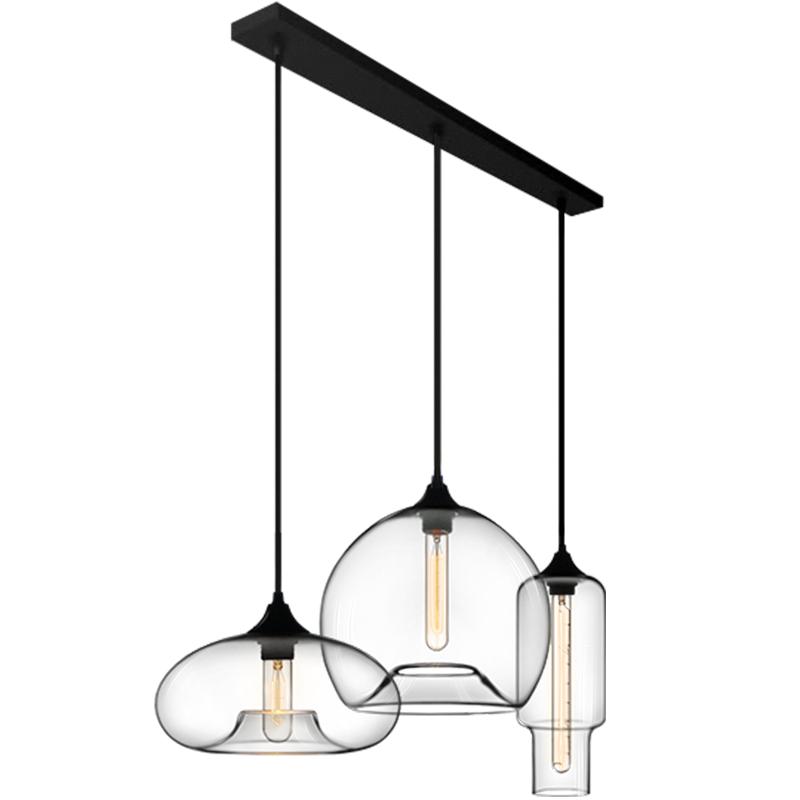 设计师的灯吧台餐厅酒吧创意客厅卧室北欧咖啡厅个性简约玻璃吊灯