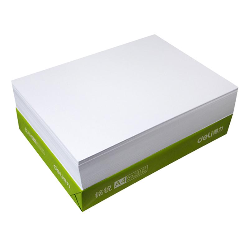 张一本草稿白纸绘画试卷整箱 500 克 A470g80 得力打印办公用复印纸