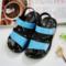 儿童凉鞋2017夏季韩版中童小童婴儿沙滩鞋防滑软塑胶宝宝男童凉鞋