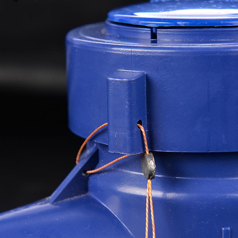 塑料水表 民用家用4分 6分数字 水表 防盗转滴水型水表高灵敏度
