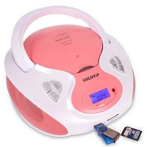 金业9236CD机 cd播放机器CD便携式手提胎教机收音机插卡MP3/USB