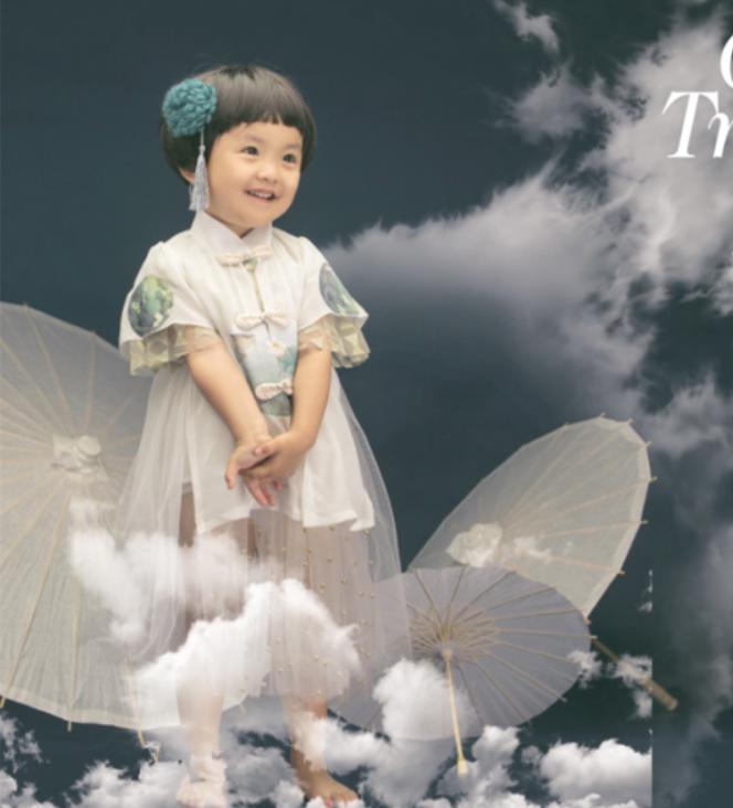 2019新款儿童摄影服装 影楼拍照服饰周岁宝宝1-2岁女孩时尚公主裙