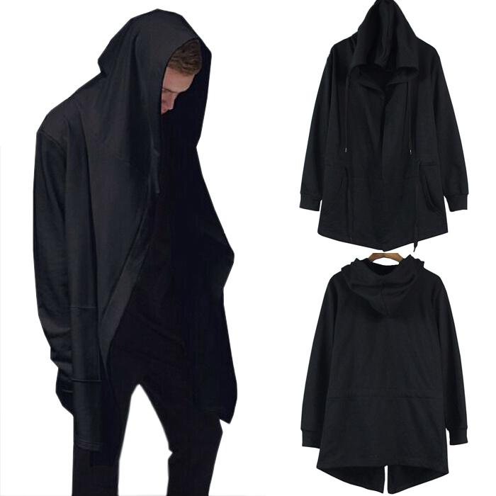 暗黑高街刺客信条卫衣男女风衣大帽子外套薄款中长款斗篷嘻哈披风