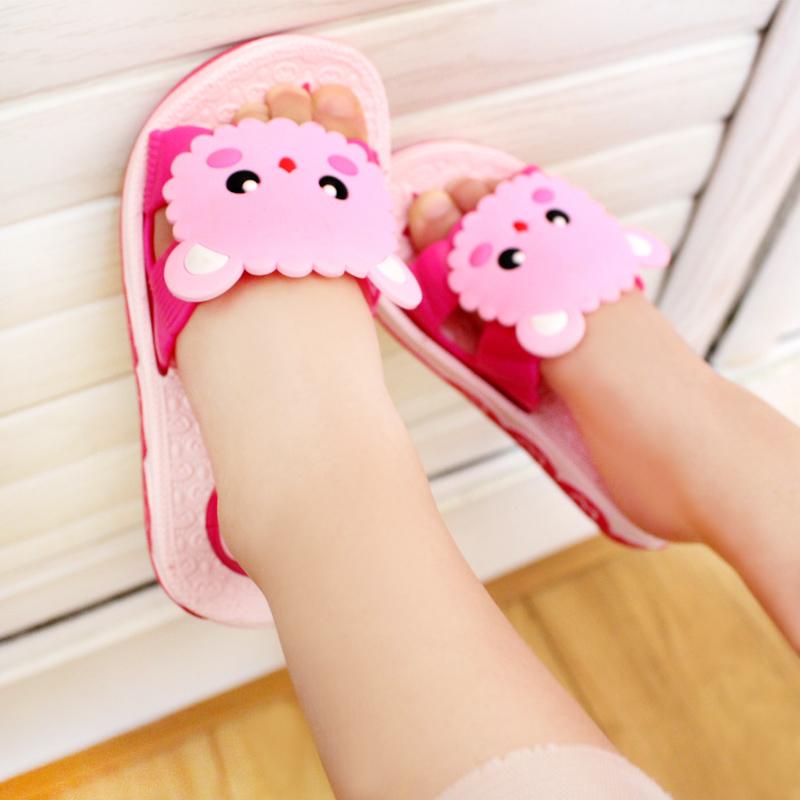 女童拖鞋夏季可爱小公主儿童凉拖鞋男孩室内浴室防滑软底宝宝拖鞋
