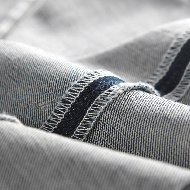 秋季修身直筒九分裤男韩版休闲弹力薄款  分牛仔裤 9 Hansca 汉斯卡