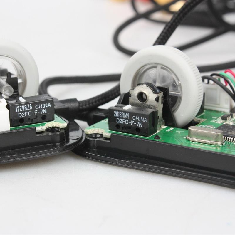 OMRON欧姆龙鼠标微动按键开关 D2FC-F-7N 10m 20m 50m微动更换