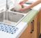 厨房自粘贴台盆水槽洗菜盆防水贴 浴室洗漱台马桶防水滴落吸湿贴