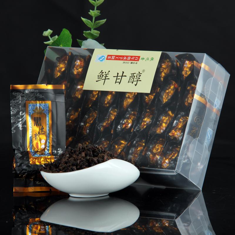 克盒装 250 茶叶 浓香 碳培 油切黑乌龙茶 黑乌龙茶