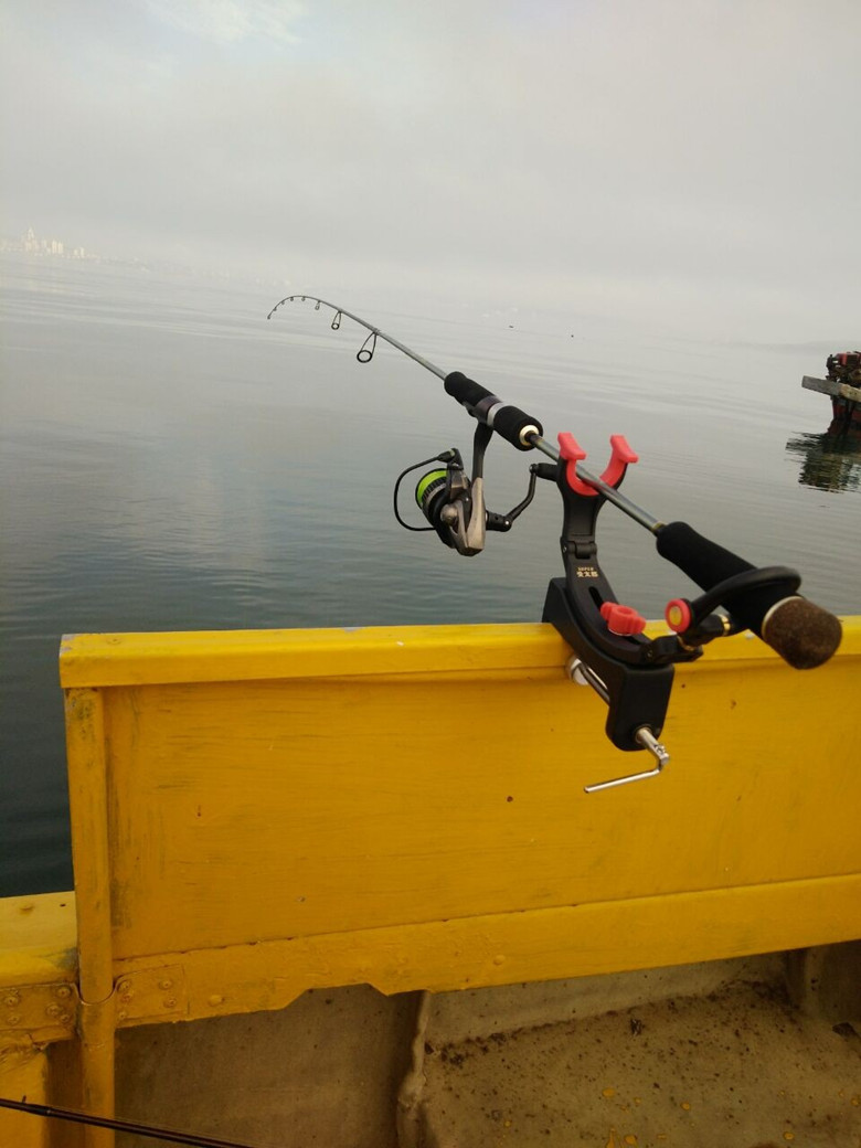 第一精工 小物竿專用受太郎02010 筏竿支架近海船竿架 炮臺支架