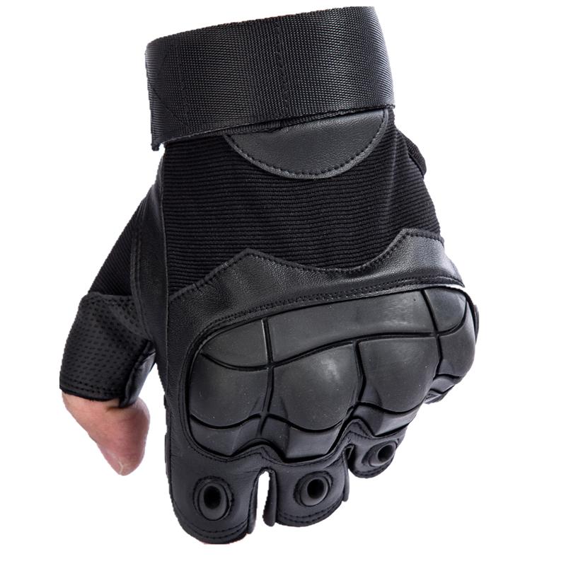 战术半指手套男士夏特种兵格斗拳击户外骑行机车摩托运动健身手套