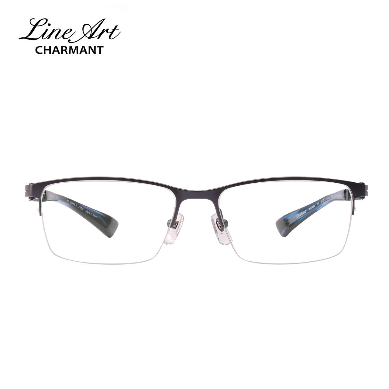 日本夏蒙眼镜框 超轻纯钛近视眼镜架男 商务休闲镜架光学架XL2229